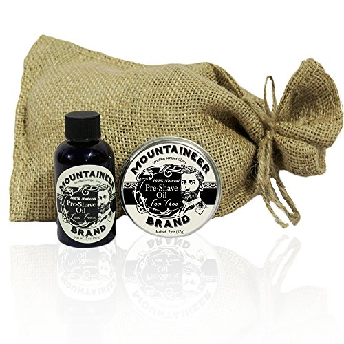 Pre Shave Shave Combo Mountaineer Brand