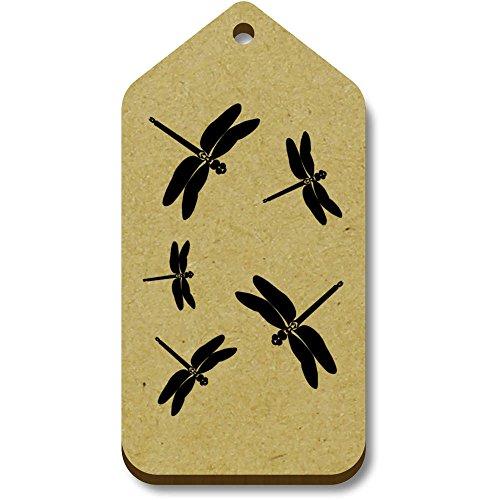 34mm Tag regalo bagaglio 'libellule' 10 tg00005789 X 66mm Azeeda 0qIXYc