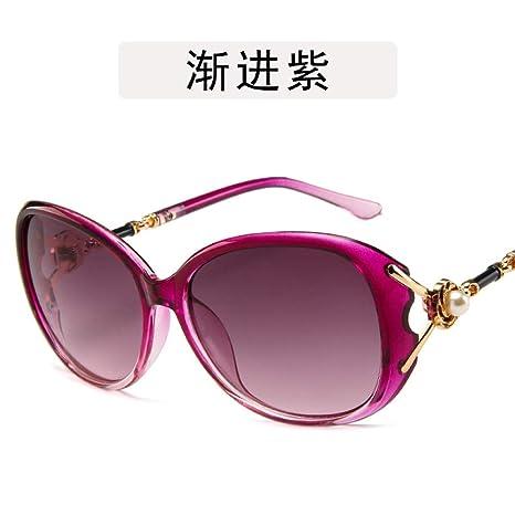 Yangjing-hl Gafas Flor de Perla Gafas de Sol Gafas de ...