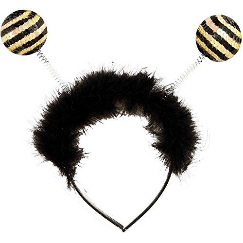 Bumble Bee Costume For Teens (Forum Novelties Sequin Bumble Bee Antenna Costume)