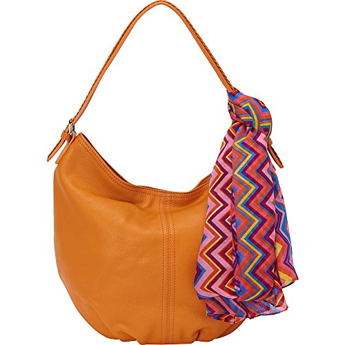 Shoulder Collection Bombay Leather Slouchy Hobo Semolina Bag Hadaki 5qEXd8xq
