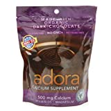 Adora - Calcium Supplement Dark Chocolate, 30 ct (Pack of 3)