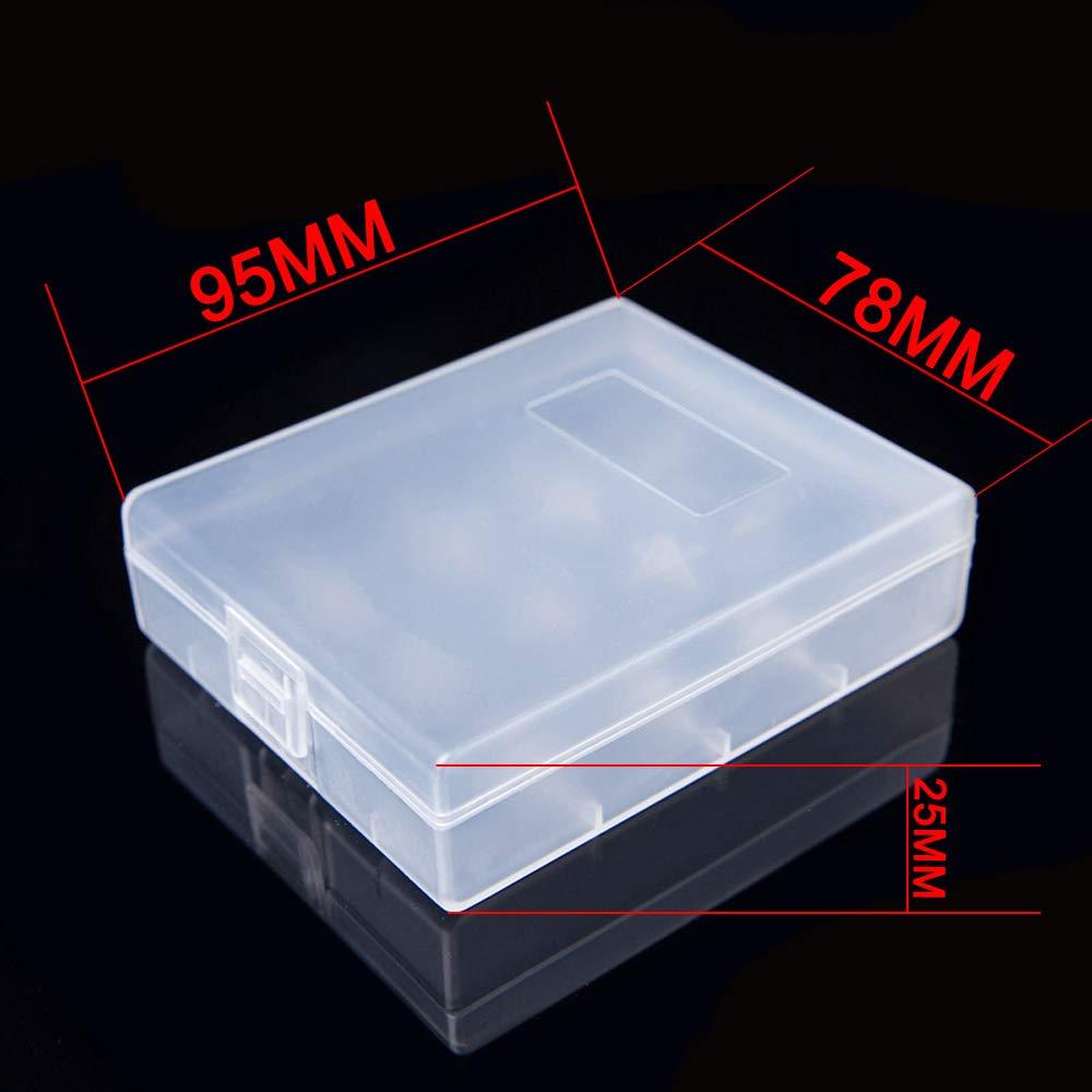 Amazon.com: 20700/21700 - Estuche de plástico para batería ...