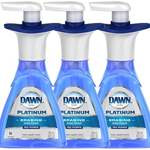 Dawn Platinum ERASING Dishfoam 10.1oz (Pack of - Foam Dishwashing Direct Dawn