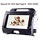 Eincar 2 Din Android 4.4 In Dash Car Radio Stereo GPS navigation DVD MP3 MP4 Player 4 Core Support WIFI Car Stereo Autoradio fits for KIA Sportage (2011-2014) Review