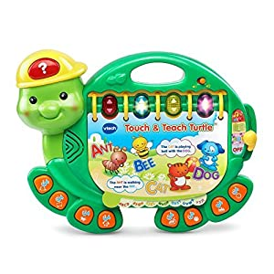 VTech Early Education Toy Touch and Teach Turtle Book Music Toy for Kids