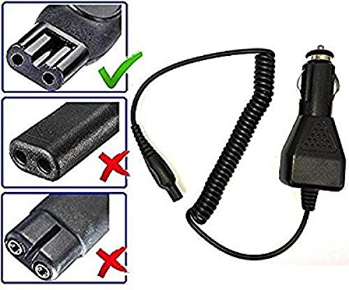 Car Cord Adapter Charger for Philips and Philips Norelco Shavers (All Models) Electrons EL-6010