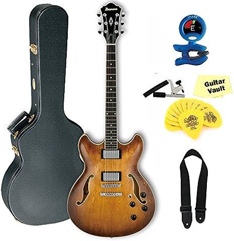 Ibanez As73 Artcore guitarra eléctrica cuerpo hueco, color marrón ...