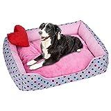 SamMoSon Pet Accessories, Soft Pet Dog Cat Bed Puppy Cushion House Pet Soft Warm Kennel Dog Mat Blanket