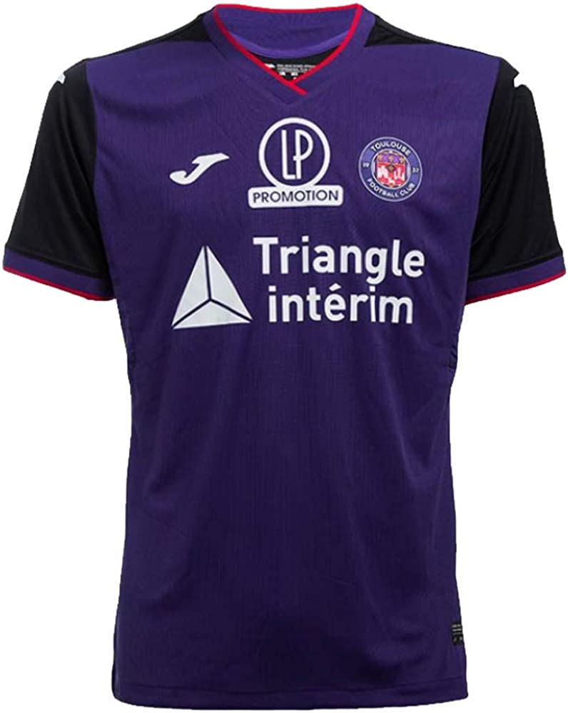 Joma 2019-2020 Toulouse Home Football Soccer T-Shirt Jersey