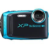 Fujifilm XP120 Waterproof Digital Camera, Sky Blue