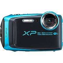 Fujifilm XP120 Waterproof Digital Camera, Sky Blue