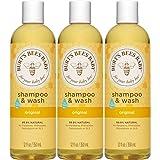 Burt's Bees Baby Shampoo & Wash, Original, 12 Ounces (Pack of 3) (Packaging May Vary)