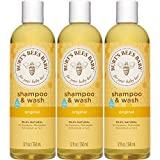 Baby : Burt's Bees Baby Shampoo & Wash, Original, 12 Ounces (Pack of 3)