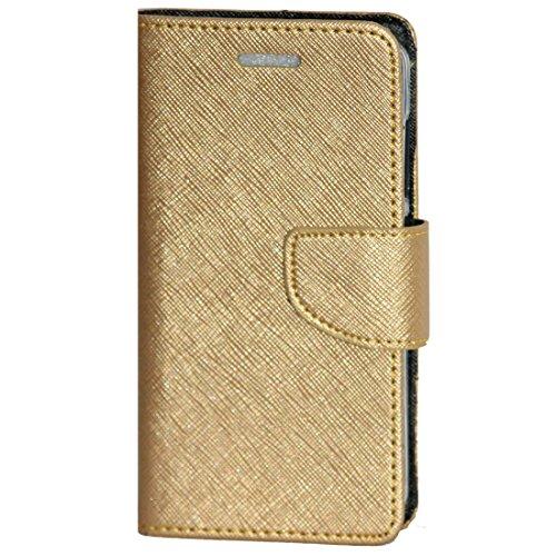 zaoma diary type flip cover for xiaomi mi redmi 4a   gold