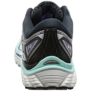 Brooks Womens Glycerin 14 Running Sneaker, Blue/Purple, 6.5 B(M) US