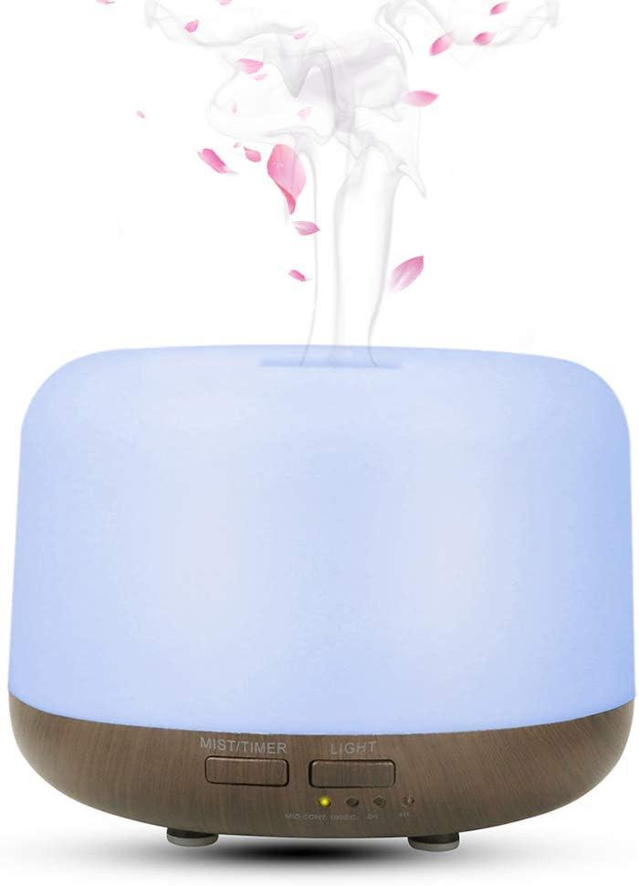 Humidificador / difusor de aromas Irfora con luces LED por sólo 15,99€ usando el #código: 5TIFAH58
