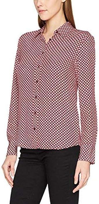 GANT Winter Star Shirt Camisa, Rosa (Port Red), 14 (Talla del Fabricante: 40) para Mujer: Amazon.es: Ropa y accesorios