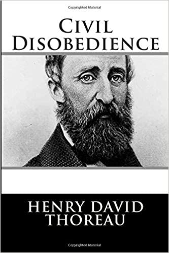 Thoreau essay on civil disobedience