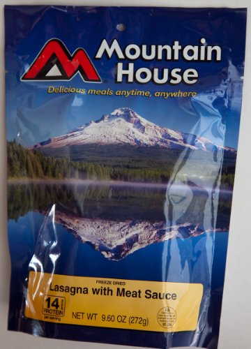 Mountain House Lasagna Freeze Dried Food (4 Servings)