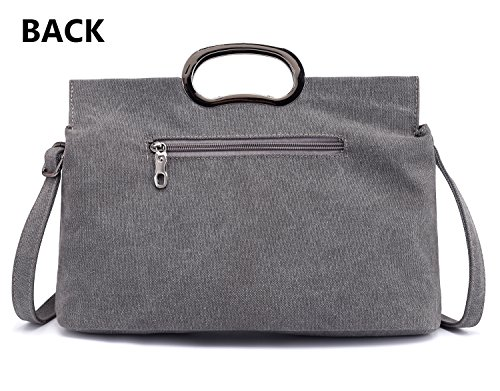 Shoulder Bag Type2 Women's Grey Tote 5ZqAn6