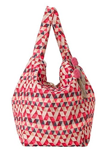 Becksöndergaard 1704410002 Shopper Cale Mansion Ethno Tasche XL in Pink Carnation