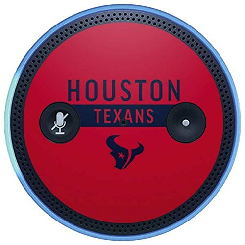 Skinit NFL Houston Texans Amazon Echo Plus Skin - Houston Texans Red Performance Series Design - Ultra Thin, Lightweight Vinyl Decal Protection