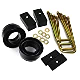 """2002 - 2008 Ram Lift Kit 1500 2WD 2"""" Front Lift 1"""" Rear Lift BIG BRAWNS Spring Spacers Tapered Lift Blocks Extended U-Bolts and Axle Alignment Shims"""