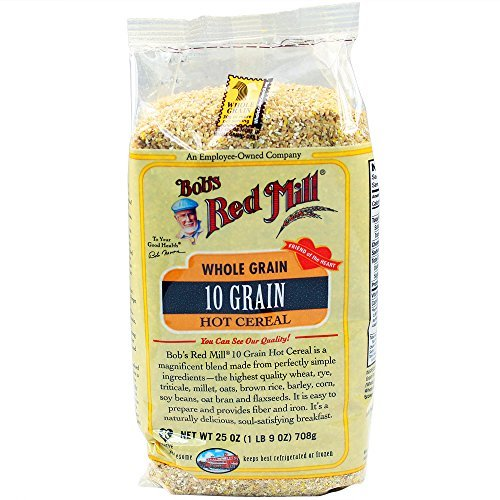 Bob's Red Mill Cereal, 10 Grain Hot, 25 Ounce (Pack of (Sugar Free Almond Syrup)