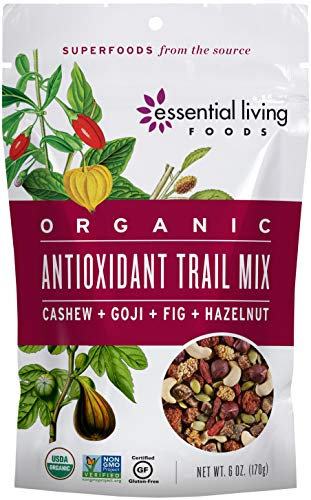 Essential Living Foods Organic Antioxidant Trail Mix Mulberries