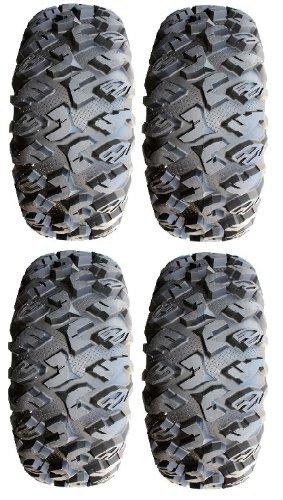 Full set of MotoSport EFX MotoClaw (8ply) Radial ATV Tires 30x10-14 (4)