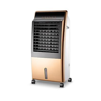 Ventilador eléctrico YANFEI Calentador De Aire Acondicionado Y Doble Ahorro De Energía Dormitorio Silencioso Pequeño Dormitorio