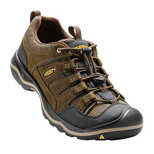 KEEN - Men's Rialto Traveler Everyday Walking Shoe, Brown, 1