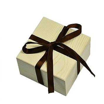 Demarkt Caja de Pino Cubierta Cielo y Tierra Caja Regalo Navidad Regalos de Cumpleaños y Fiesta