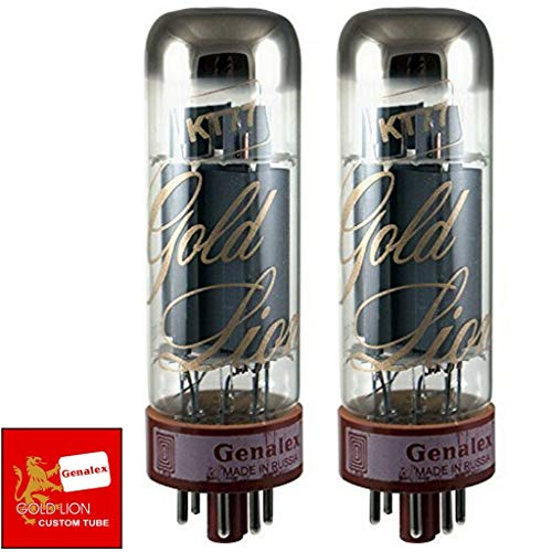 - Genalex Gold Lion KT77, Matched Pair (2 tubes)