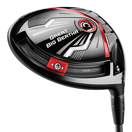 Callaway Men's Great Big Bertha Driver (Right Hand, Graphite, Regular Flex, Kuro...