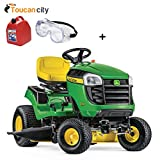 Toucan City Gas Can with Safety Goggles and John Deere E160 48 in. 24...