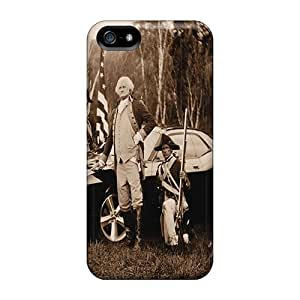 Protector Hard Phone Case For Iphone 5/5s With Provide Private Custom Realistic Dodge Challenger Skin SherriFakhry