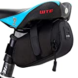 YF-TOW Bicycle Seat Pack Bag, Strap-On Bike Cycling Wedge Saddle Bag Pouch Under Seat Bag