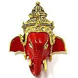 Jewelry Gift Thai Amulet Talisman Ohm Lord Ganesha Takrud Yantra LP Pern Wat Bang Phra Lucky Rich Pendants