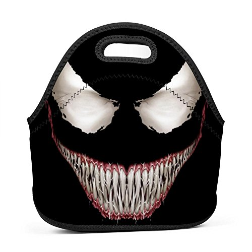 Smiles Lunch - V-Enom Smile Insulated Lunch Bag Lunch Box Waterproof Lunch Tote Bag for Men Women Students
