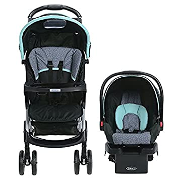 Baby Stroller And Car Seat Combo Premium Lightweight Pram Travel System Graco Click N Connect In