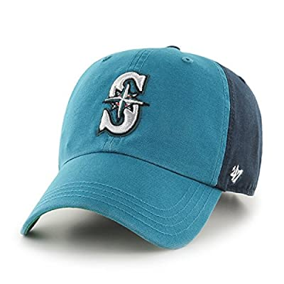 "Seattle Mariners 47 Brand MLB ""Flagstaff"" Garment Washed Adjustable Hat"
