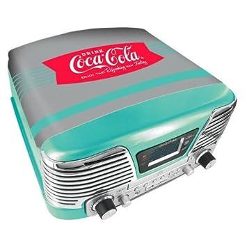 BigBen TD79 ll - Tocadiscos, diseño Coca Cola, verde: Amazon.es ...