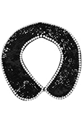 Simplicity Women's Elegant & Classy Beautiful Removable Faux Collar Necklace Accessory
