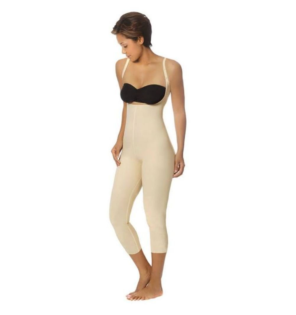 Marena Recovery Knee-Length Girdle with High-Back, Step 2 (pull on)