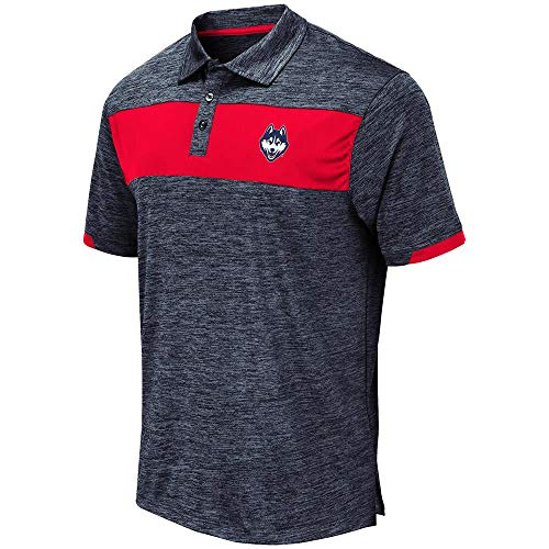 Mens UConn Connecticut Huskies Nelson Polo Shirt - for sale  Delivered anywhere in USA