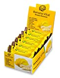 Banana Vital Bar - Simply Bananas - All-Natural Energy Bar Healthy Snack Gluten-Free Non-GMO Allergen-Free Low Calories Vegan Kosher Paleo Fat-Free No Preservatives No Added Sugar