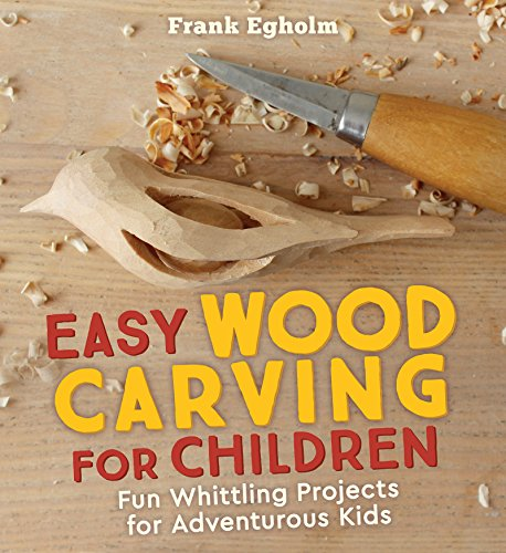 Woodcraft Activity Kit - Easy Wood Carving for Children: Fun Whittling Projects for Adventurous Kids