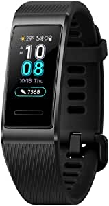 HUAWEI Band 3 Pro - Smart Band Fitness Tracker with 0.95 Inch Touchscreen, HR monitor, Indoor Outdoor Pro Tracking, Sleep Monitor, Built-in GPS